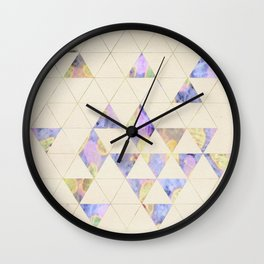 Triangles are the best shape Wall Clock