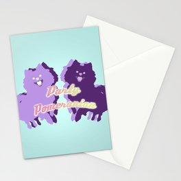 Party Pomeranian Stationery Cards