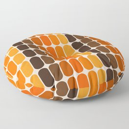 Golden Capsule Floor Pillow