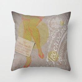 Tea de Trocadero London Throw Pillow