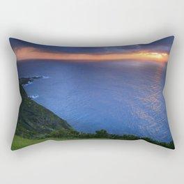 Coastal sunset Rectangular Pillow