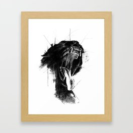The Untamed Framed Art Print