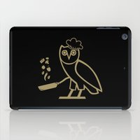 chef iPad Cases featuring The Chef by October's Very Own