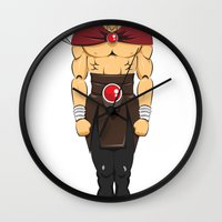 viking Wall Clocks featuring viking by kureiii