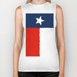 Fancy Flag: Texas Biker Tank