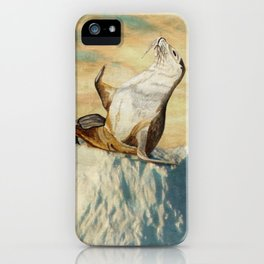Greetings From The Arctic iPhone Case
