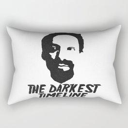 Greendale Community's Evil Abed: The Darkest Timline Rectangular Pillow