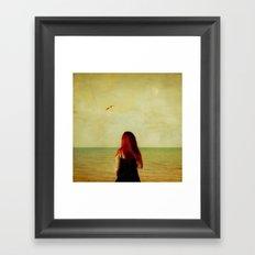 from a distance Framed Art Print