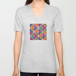 Wari pop V Unisex V-Neck