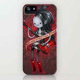 Sorry Im not  made of sugar iPhone Case