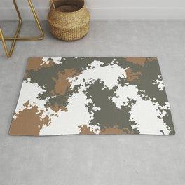 Camouflage mountain 2 Rug
