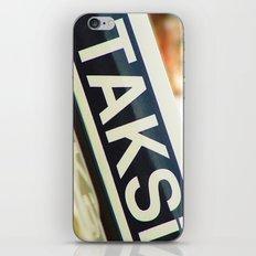 Taksi iPhone Skin