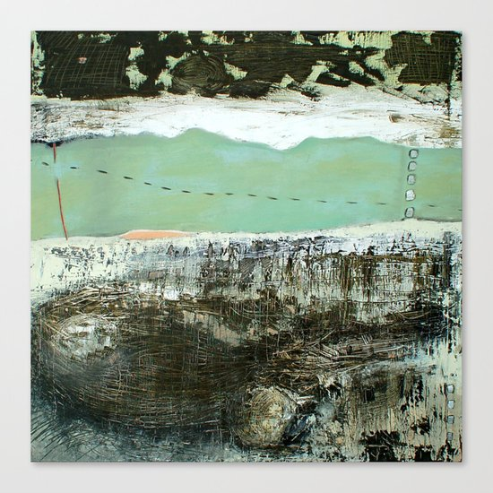 torn Canvas Print