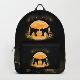Black Cats Paradise Backpack