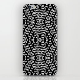Art Deco Black and White iPhone Skin