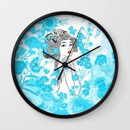 Sirène mermaid - peggy nille Wall Clock