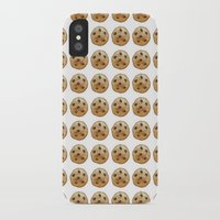emoji iPhone & iPod Cases featuring COOKIE EMOJI by Fanis
