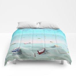 Between two waters Comforters