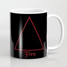 Fire Element Symbol Coffee Mug
