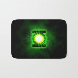 Green Lantern Power Of The Ring Bath Mat