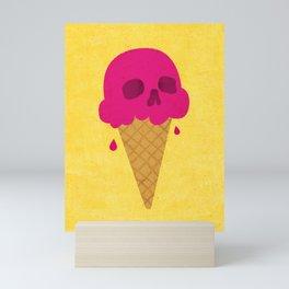 Skull Scoop. Mini Art Print