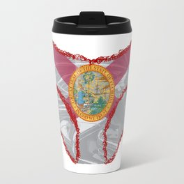 Florida Flag Knickers Travel Mug