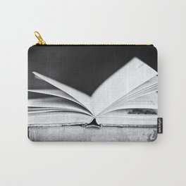 An Open Book Carry-All Pouch