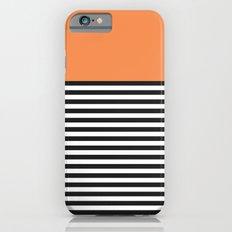 STRIPE COLORBLOCK {ORANGE} Slim Case iPhone 6s