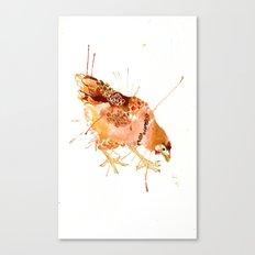 Cheeky Chicken Canvas Print