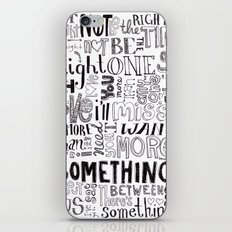 Something About Us iPhone & iPod Skin