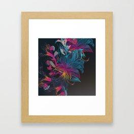 Floral art Framed Art Print