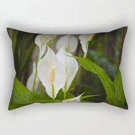 Peace Lily Rectangular Pillow
