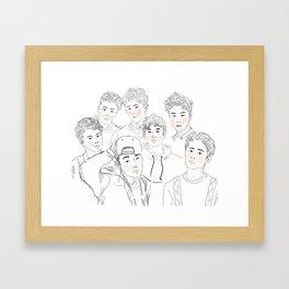 iKON Framed Art Print