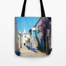Obidos, Portugal (RR 175) Analog 6x6 odak Ektar 100 Tote Bag