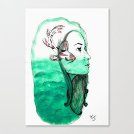 Koi Feelings Canvas Print