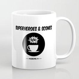 Superheroes and Scones Coffee Mug