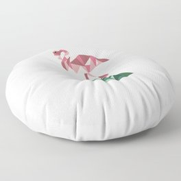 Rose's Flamingo Floor Pillow