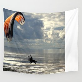 Powered Paraglider Wall Tapestry