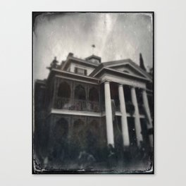 Haunted Mansion by Topher Adam 2017 Canvas Print