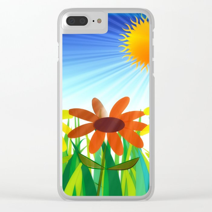 Let the Sun Shine In Clear iPhone Case
