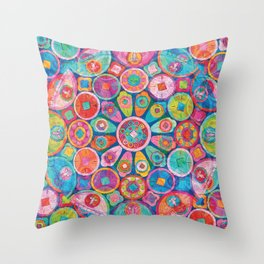 Rosace Throw Pillow