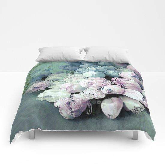 Tulips Antique Comforters