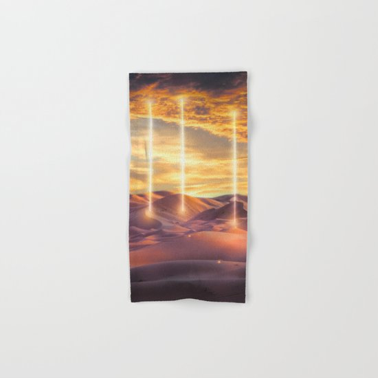 Escape through the light Hand & Bath Towel