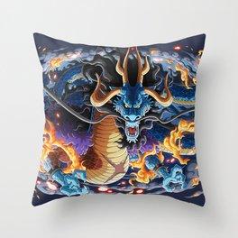 Dragon Kaido - One piece Throw Pillow