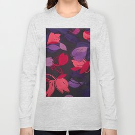 Silk Florals 1 Long Sleeve T-shirt