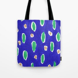 Ocean Life Abstract Painting Tote Bag