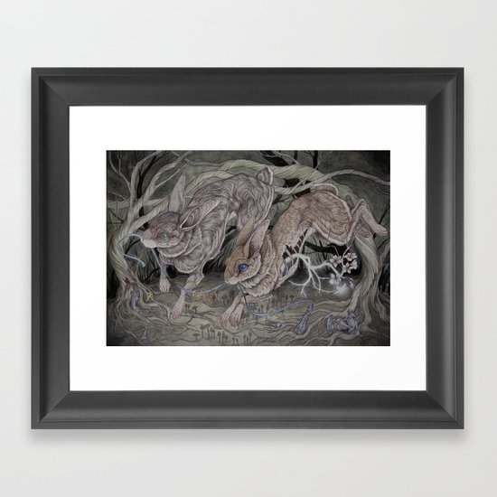 The Warren's Keepers Framed Art Print