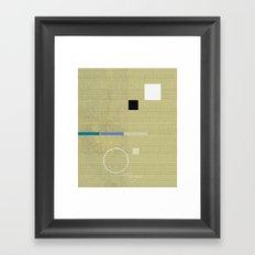 project 93 Framed Art Print