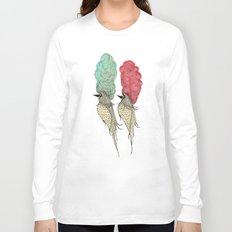 Bouffant Birds Long Sleeve T-shirt