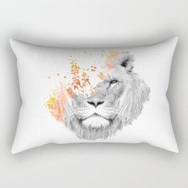 If I roar (The King Lion) Rectangular Pillow